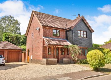 Thumbnail 3 bed detached house for sale in Park Close, Barford, Norwich