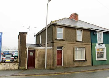 Thumbnail 3 bed end terrace house for sale in Prendergast, Haverfordwest