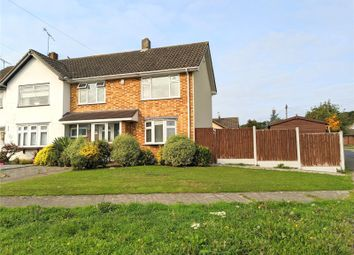 Thumbnail 3 bed semi-detached house for sale in Sandown Road, Thundersley, Essex