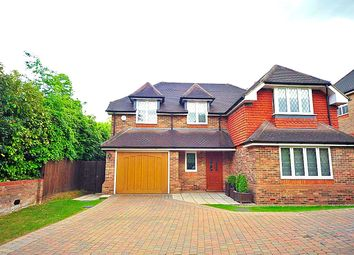 Thumbnail 5 bed detached house to rent in Goodyers Avenue, Radlett, Hertfordshire