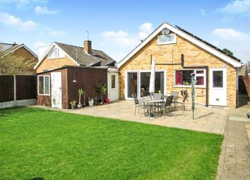 Thumbnail 4 bedroom bungalow for sale in Roman Way, Stilton, Peterborough