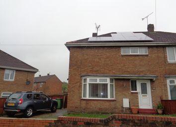 Thumbnail 3 bed semi-detached house to rent in Coronation Avenue, Shildon