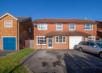 Thumbnail 3 bedroom semi-detached house for sale in Rose Close, Woodley, Reading