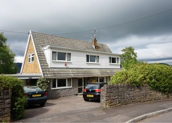 Thumbnail 4 bed detached house for sale in School Lane, Abergavenny