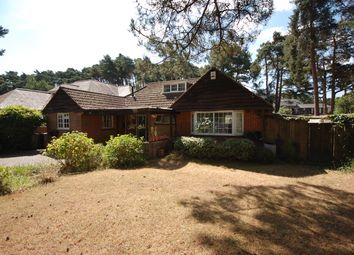 Thumbnail 3 bed detached bungalow for sale in Links Road, Poole