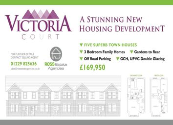 Thumbnail 3 bed town house for sale in Plot 2, Victoria Court, Barrow-In-Furness