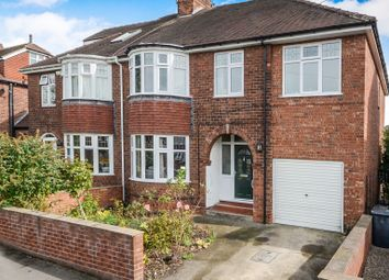 Thumbnail 5 bedroom semi-detached house for sale in Manor Drive North, York