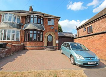 Thumbnail 3 bed semi-detached house for sale in Myrtle Avenue, Birstall, Leicester, Leicestershire