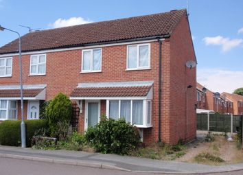 Thumbnail 3 bed semi-detached house to rent in Old Mill Crescent, Newark
