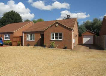 Thumbnail 3 bed detached bungalow for sale in Ramnoth Road, Wisbech