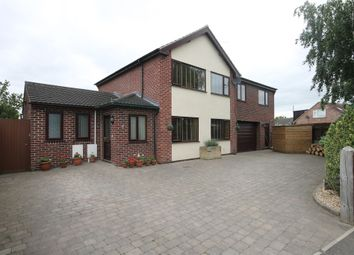 Thumbnail 5 bed detached house for sale in Fairway, Newark, Nottinghamshire.