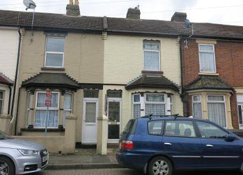 Thumbnail 2 bedroom terraced house to rent in Eva Road, Gillingham