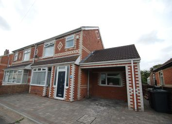Thumbnail 5 bed semi-detached house for sale in Grove Road, Hardway, Gosport