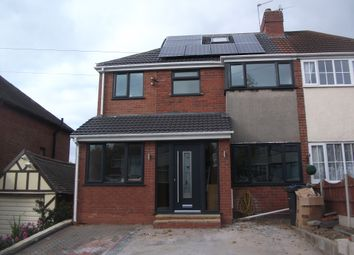 Thumbnail 5 bedroom semi-detached house for sale in Stanford Avenue, Great Barr