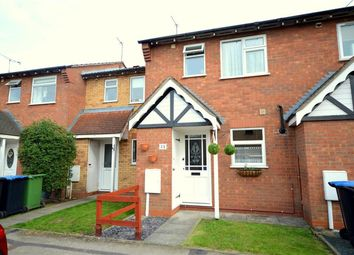 Thumbnail 2 bed terraced house for sale in Bushnell Close, Broughton Astley, Leicester
