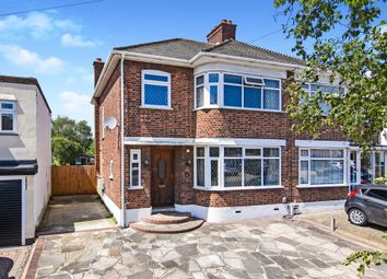 Thumbnail 3 bedroom semi-detached house for sale in Lodge Avenue, Gidea Park, Romford