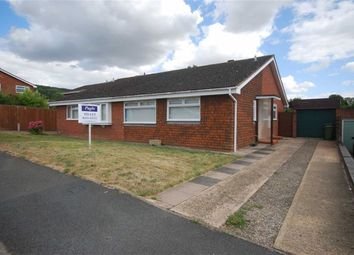 Thumbnail 3 bed semi-detached bungalow to rent in Biddulph Way, Ledbury, Herefordshire