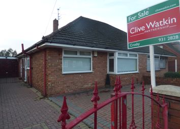 Thumbnail 2 bed semi-detached bungalow for sale in Windmill Avenue, Crosby, Liverpool