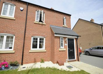 Thumbnail 3 bed semi-detached house for sale in Boughton Lane, Raunds, Northamptonshire