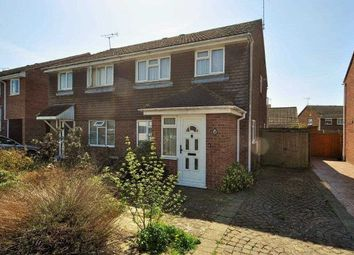 Thumbnail 3 bed semi-detached house for sale in Evans Road, Willesborough, Ashford