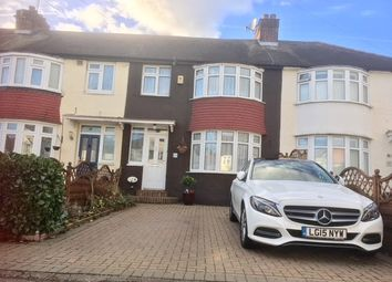 Thumbnail 3 bed terraced house for sale in Egham Crescent, North Cheam