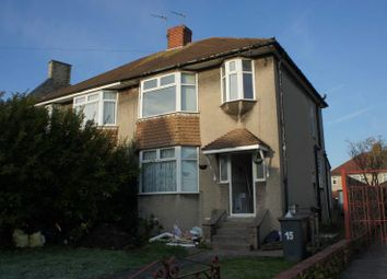 Thumbnail 5 bed semi-detached house to rent in Conygre Road, Filton, Bristol