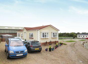 Thumbnail 2 bed mobile/park home for sale in Greenacres Caravan Site, Spilsby Road, Horncastle