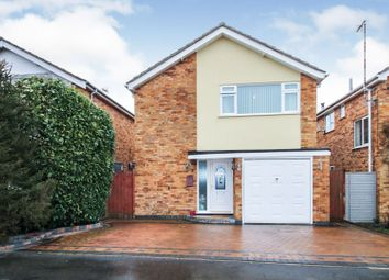 Thumbnail 3 bed detached house for sale in Penclose Road, Fleckney
