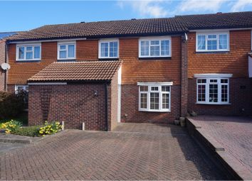 Thumbnail 3 bed terraced house for sale in Ambleside Close, Crawley