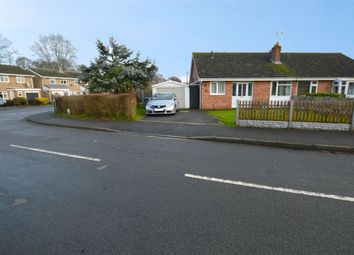 Thumbnail 3 bed semi-detached bungalow for sale in Oberon Close, Woodlands, Rugby, Warwickshire