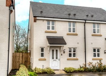 Thumbnail 3 bed semi-detached house for sale in Wheelwright Way, Wellesbourne, Warwick