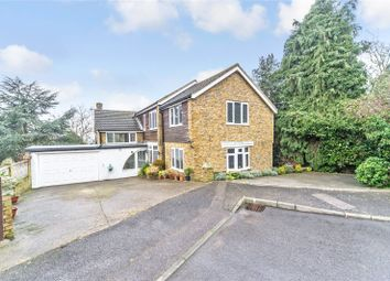 Thumbnail 4 bed property for sale in Hill Court, Chattenden, Kent