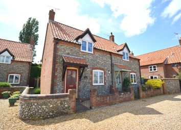 Thumbnail 3 bed semi-detached house for sale in Holt Road, Thornage, Norfolk