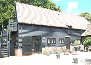 Thumbnail 4 bed barn conversion for sale in Bawdsey, Woodbridge, Suffolk
