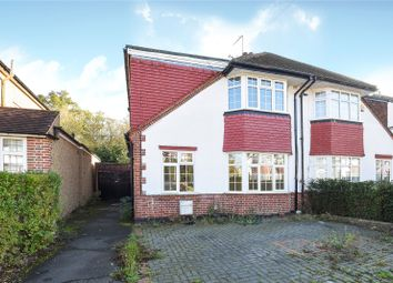 Thumbnail 4 bed semi-detached house for sale in St Michaels Crescent, Pinner, Middlesex