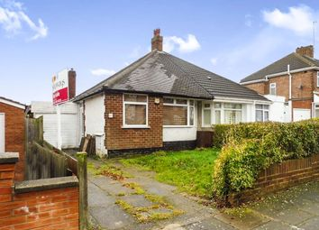 Thumbnail 2 bedroom semi-detached bungalow for sale in Teesdale Avenue, Hodge Hill, Birmingham