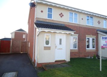 Thumbnail 3 bed semi-detached house to rent in Sycamore Grove, Bracebridge Heath, Lincoln