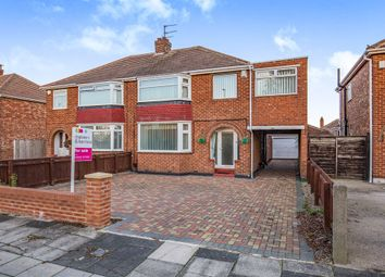 Thumbnail 4 bed semi-detached house for sale in The Oval, Middlesbrough