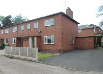 Thumbnail 3 bed end terrace house for sale in Walton Way, Stone, Staffordshire