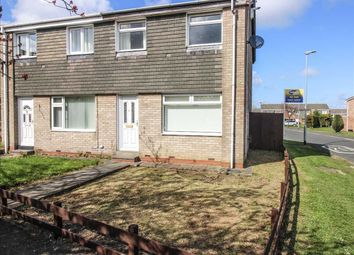 Thumbnail 3 bed terraced house to rent in Oxford Avenue, Eastfield Green, Cramlington