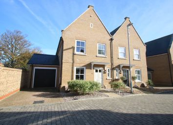 Thumbnail 3 bed semi-detached house for sale in Gunners Rise, Shoeburyness, Southend-On-Sea