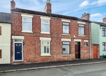 Thumbnail 3 bed terraced house for sale in Silver Street, Oakthorpe, Swadlincote