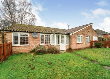 Thumbnail 4 bed detached bungalow for sale in Eriswell Drive, Lakenheath, Brandon