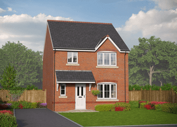 Thumbnail 3 bed detached house for sale in Village Road, Northop Hall, Flintshire