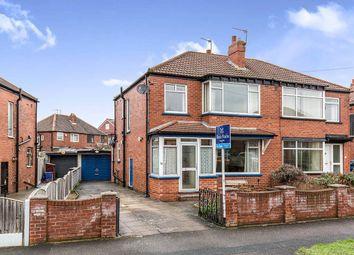 Thumbnail 3 bed semi-detached house for sale in Manston Crescent, Crossgates, Leeds