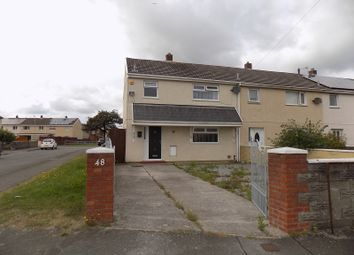 Thumbnail 3 bed semi-detached house for sale in Lingfield Avenue, Aberavon, Port Talbot, Neath Port Talbot.