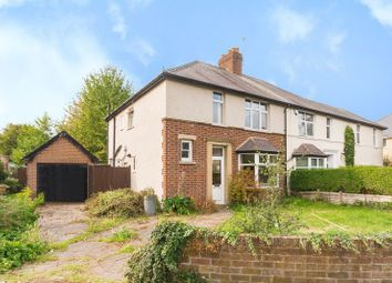 Thumbnail 3 bedroom semi-detached house for sale in Westbury Crescent, Oxford
