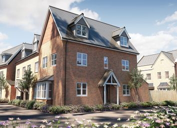 "Thumbnail 3 bed semi-detached house for sale in ""The Portland"" at Deardon Way, Shinfield, Reading"