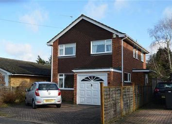 Thumbnail 3 bed semi-detached house for sale in Gravel Road Church Crookham, Fleet, Hampshire