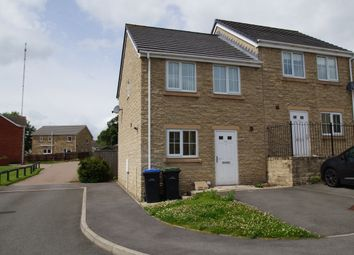 Thumbnail 2 bed semi-detached house for sale in Meadowfield, Burnhope, Co Durham